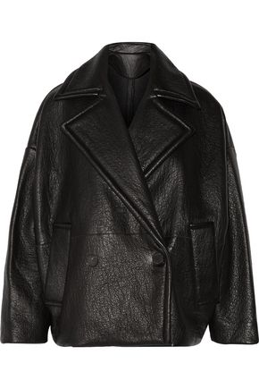 IRO Kally textured-leather jacket