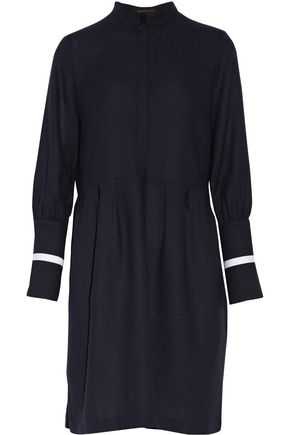 MOTHER OF PEARL Milly wool-crepe dress