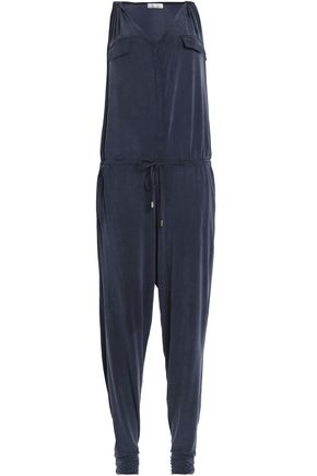 HEIDI KLEIN Como washed stretch-jersey  jumpsuit