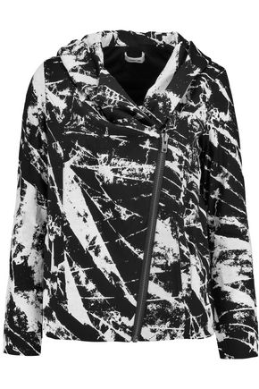 HELMUT LANG Tera printed stretch-jersey jacket