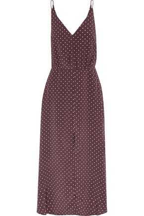 ZIMMERMANN Karmic polka-dot silk midi dress
