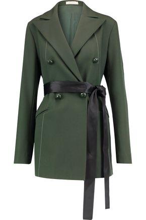 NINA RICCI Wool-twill blazer