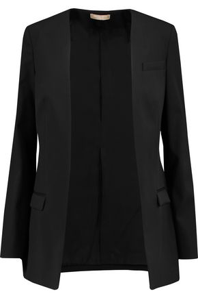 MICHAEL KORS COLLECTION Wool-crepe jacket