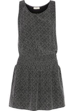 JOIE Lawska printed silk crepe de chine mini dress