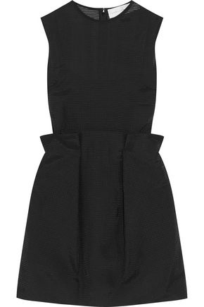 VICTORIA, VICTORIA BECKHAM Wool-blend mini dress