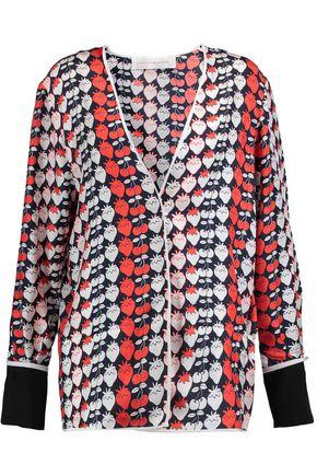 VICTORIA, VICTORIA BECKHAM Printed silk jacket