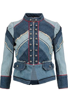 MARC BY MARC JACOBS Paneled denim jacket