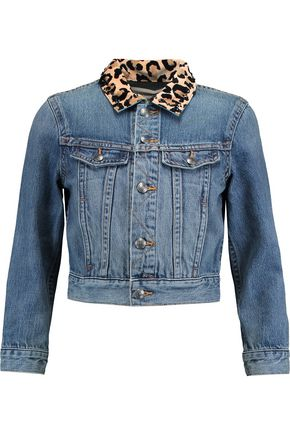 MARC BY MARC JACOBS Embellished cropped denim jacket