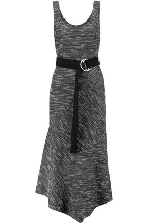 REBECCA VALLANCE Harris bouclé midi dress