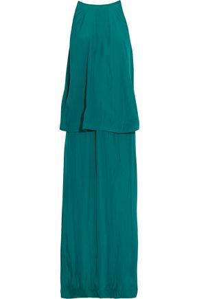 LANVIN Draped faille gown