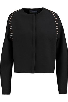 LANVIN Embroidered wool-blend jacket