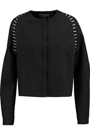 LANVIN Embroidered wool-blend jacket