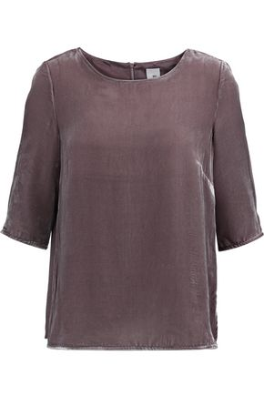 IRIS & INK Joy velvet top