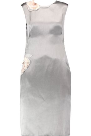 LANVIN Metallic satin dress
