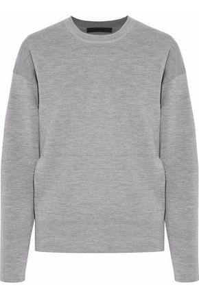 ALEXANDER WANG Wool-blend knit sweater
