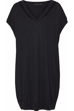 ALEXANDER WANG Cutout Merino wool top