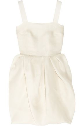 LANVIN Bubble-skirt silk-gazar dress