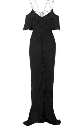 EMILIO PUCCI Ruffled silk-georgette gown
