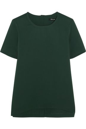 MADEWELL Swingy crepe top