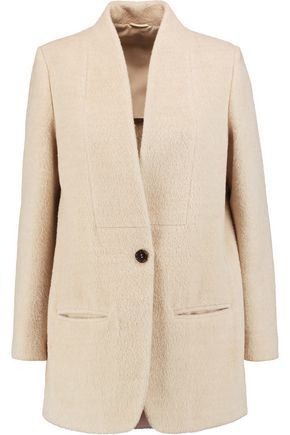 BRUNELLO CUCINELLI Llama and wool-blend jacket