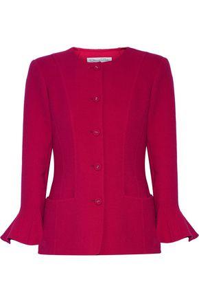 OSCAR DE LA RENTA Stretch wool-blend jacket