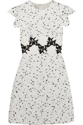 GIAMBATTISTA VALLI Embroidered tweed mini dress