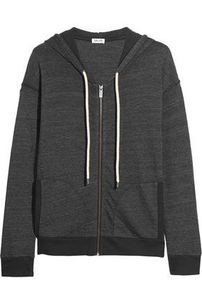 SPLENDID Tahoe jersey hooded top
