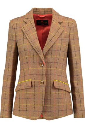 ETRO Checked wool blazer