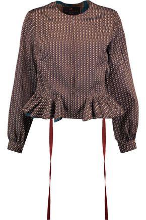 ETRO Jacquard peplum jacket
