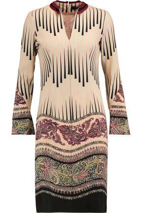 ETRO Printed wool dress