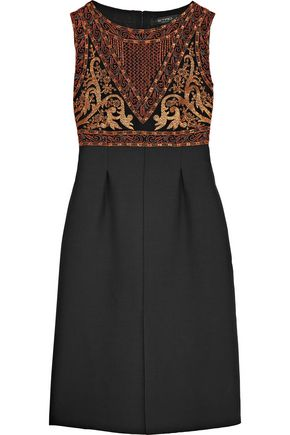 ETRO Embellished crepe dress