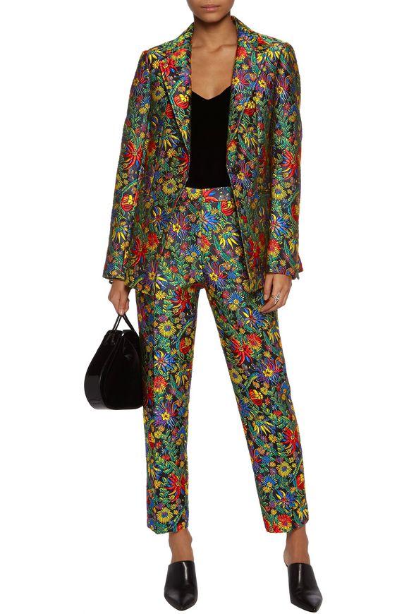 Floral-print cloque blazer | 3.1 PHILLIP LIM | Sale up to 70% off | THE  OUTNET