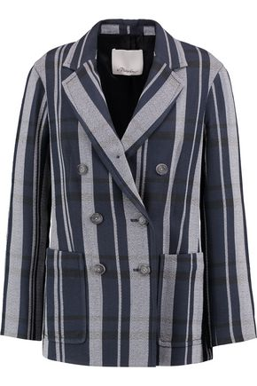 3.1 PHILLIP LIM Striped crepe blazer