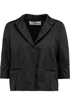 MARNI Cropped satin jacket