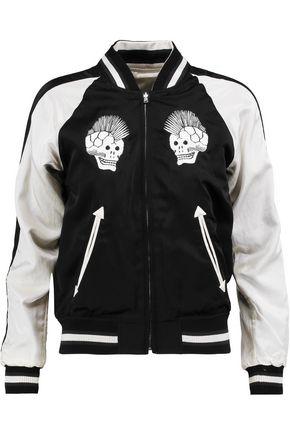 R13 Punksukajan reversible silk and cotton-blend jacket