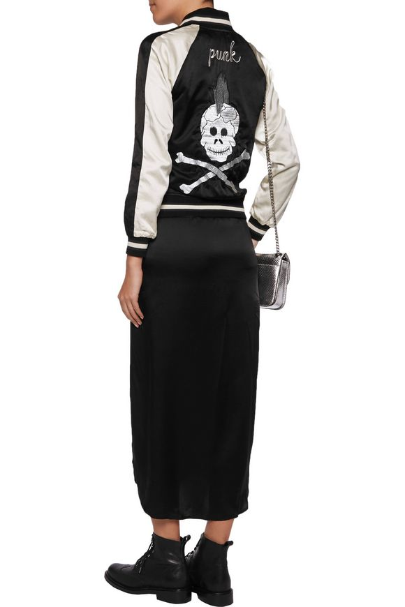 Punksukajan reversible silk and cotton-blend jacket | R13 | Sale up to 70%  off | THE OUTNET