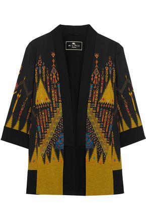 ETRO Printed crepe jacket
