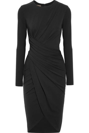 MICHAEL KORS COLLECTION Draped stretch-jersey dress