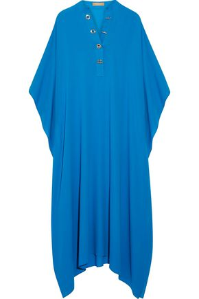 MICHAEL KORS COLLECTION Asymmetric silk-crepe kaftan