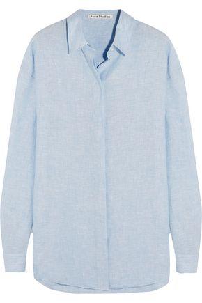 ACNE STUDIOS Bela slub linen shirt