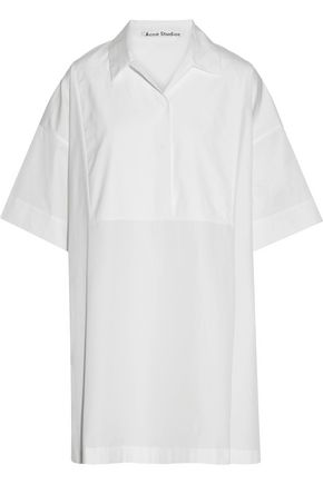 ACNE STUDIOS Sena cotton-poplin shirt dress