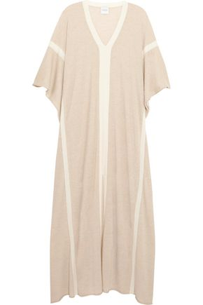 MADELEINE THOMPSON Two-tone cashmere kaftan