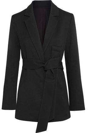 TOTÊME Stary belted crepe blazer