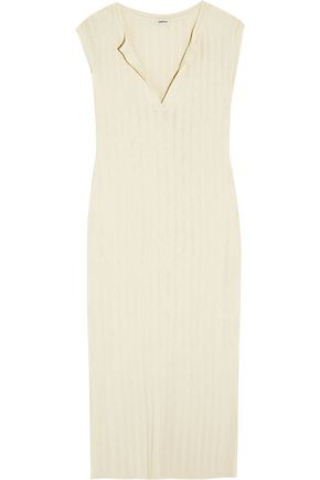 TOTÊME Bahia ribbed stretch-knit midi dress