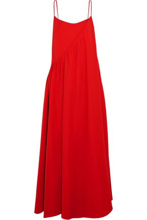 ADEAM Layered crepe gown