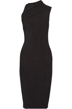NARCISO RODRIGUEZ Stretch ribbed-knit dress