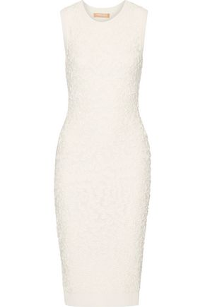 MICHAEL KORS COLLECTION Soutache stretch-knit midi dress