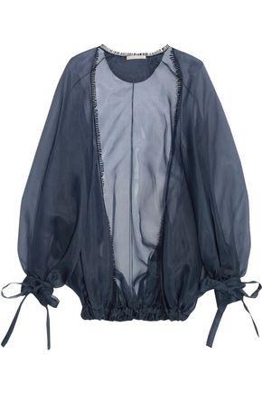ANTONIO BERARDI Silk-organza jacket