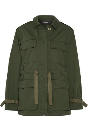 THEORY Cotton-twill jacket