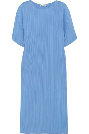 JIL SANDER Plissé crepe dress